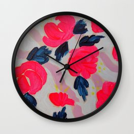 First Bloom Wall Clock
