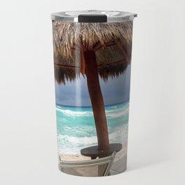Cancun beach, Mexico Travel Mug