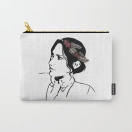 Josephine Flower Crown Carry-All Pouch