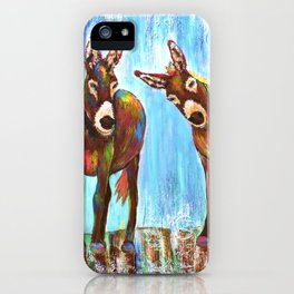 Donkeys iPhone Case