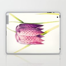VIII. Vintage Flowers Botanical Print by Pierre-Joseph Redouté - Lilac Tulip Laptop & iPad Skin