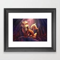 Volcanic Framed Art Print