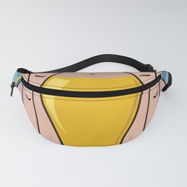 Female body shapes Fanny Pack
