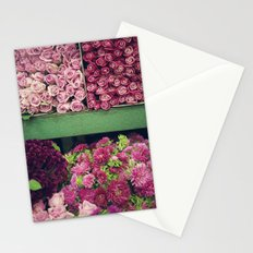 Flower Market Colorblock Stationery Cards