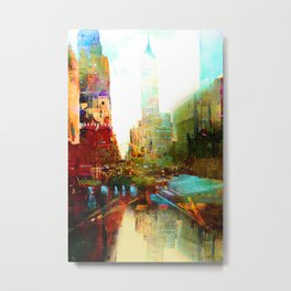 The indestructible city Metal Print