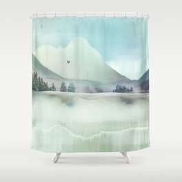 Winter Hunt Shower Curtain