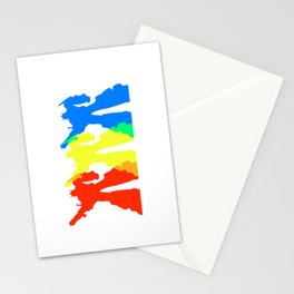 Optimus Prime Colors Stationery Cards