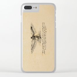 Oscar Wilde - Icarus Clear iPhone Case