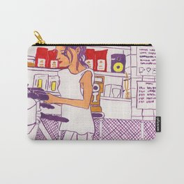 Barista Girl Carry-All Pouch
