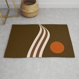Swell - Cocoa Stripes Rug