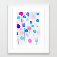 candy Framed Art Prints featuring Candy by DuckyB