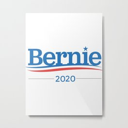 Bernie Sanders 2020 Campaign Classic Metal Print