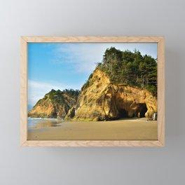 Hug Point Framed Mini Art Print