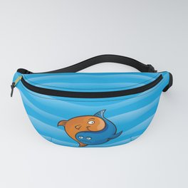 Yin Yang Fish Cartoon Fanny Pack