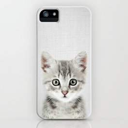 Kitten - Colorful iPhone Case