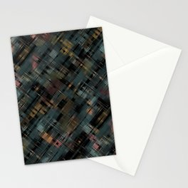 Colored streaks Stationery Cards