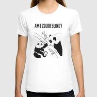 pandas T-shirts featuring Pandas by Raaz Herzberg