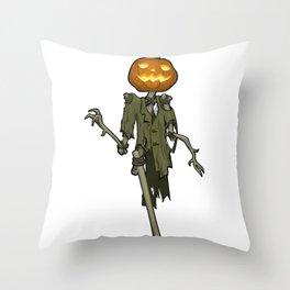 Smiling Jack O 'Lantern Throw Pillow