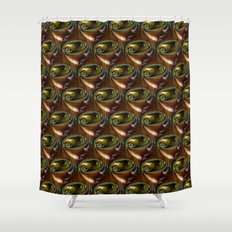 shower curtain clipart. brown glass abstract fractal shower curtain clipart r