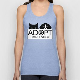 Adopt, Don't Shop Unisex Tank Top