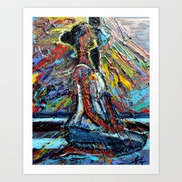 Every Breath You Take Art Print