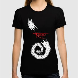 Mariachi Ronin Feathered Snake white T-shirt