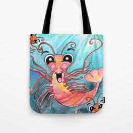 K is for Krill Tote Bag