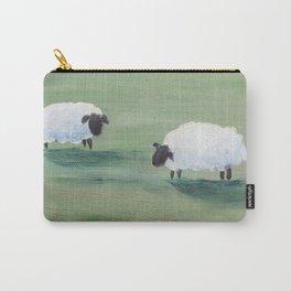 folk art sheep Carry-All Pouch