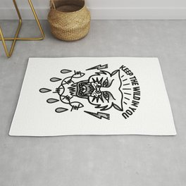 Keep the wild in you Rug