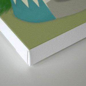 The Lone Fox  Canvas Print
