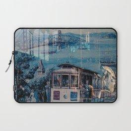 Window Reflection 001 (Horse/Trolley) Laptop Sleeve