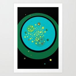 Green No. 1 Art Print