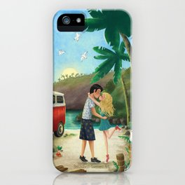 Summer Travels iPhone Case