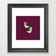 Prety Birds Framed Art Print