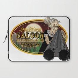 Jenny O'Meara's Saloon Laptop Sleeve