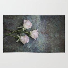 Three roses I Rug
