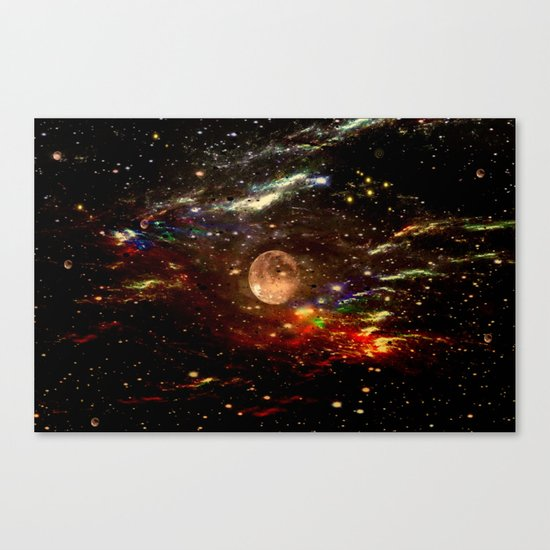 WE AND THE UNIVERSE Canvas Print
