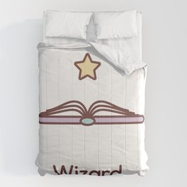 Cute Dungeons and Dragons Wizard class Comforters