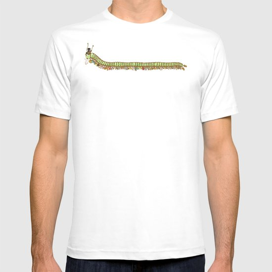 Caterpillar Shoe Fetish T-shirt