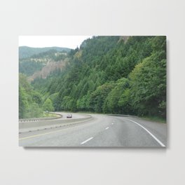 LIFE ON THE OPEN ROAD  Metal Print