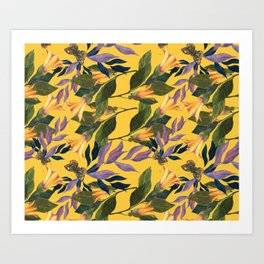 TROPICAL MIST Art Print