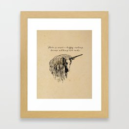 The Last Unicorn Framed Art Print