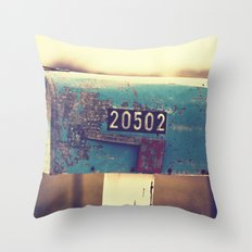 2 0 5 0 2 { you've got mail series} Throw Pillow