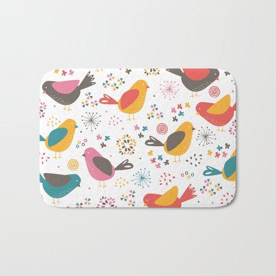 Quirky Chicks Bath Mat
