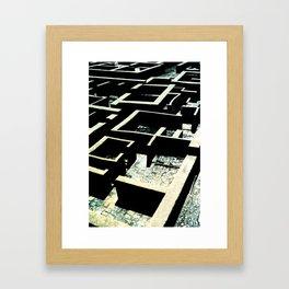 Building Ruins, Spain Framed Art Print
