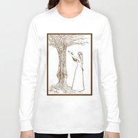 merlin Long Sleeve T-shirts featuring Nimue & Merlin by TheScienceofDepiction