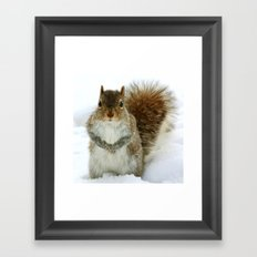 You Talking to Me? Framed Art Print