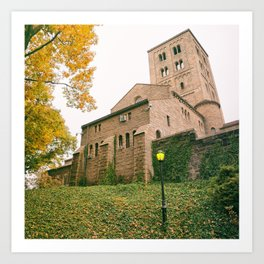 Autumn - The Cloisters - New York City Art Print