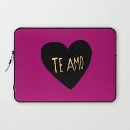 Te Amo II Laptop Sleeve