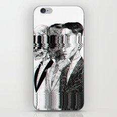 Exquisite corpse iPhone & iPod Skin